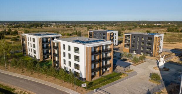 Sostinėje dygstančio modernaus daugiabučių namų kvartalo statybas paspartins gautas finansavimas